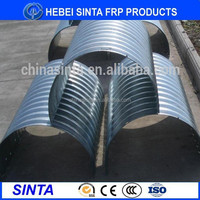 large diameter steel drainage pipe corrugated with low price