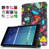 Rotating Stand Leather Case For Samsung Galaxy Tab E 8.0 T377 T375 T377P 8inch Tablet PC Cover Protector Skin