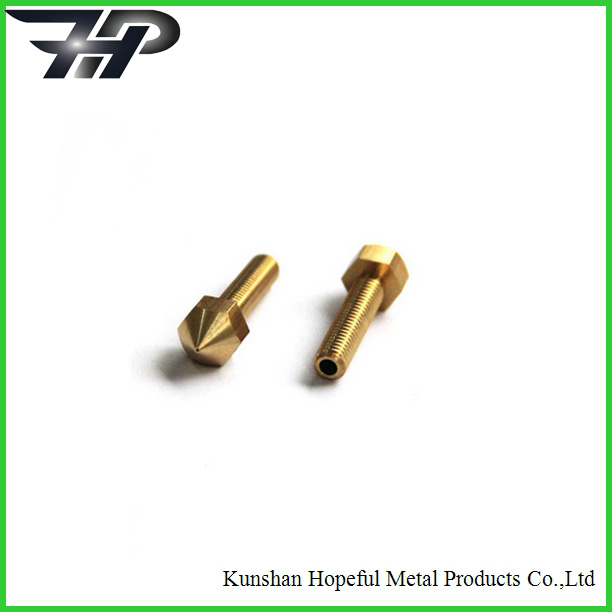Custom cnc brass job work CNC machining brass pins