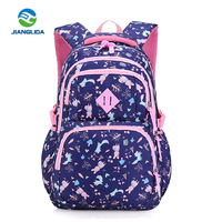2018 new style fashion light weight latest school bags for girls