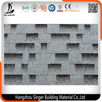 Diversified Colors Professional Architectural Asphalt Shingles for Roofing Made in China