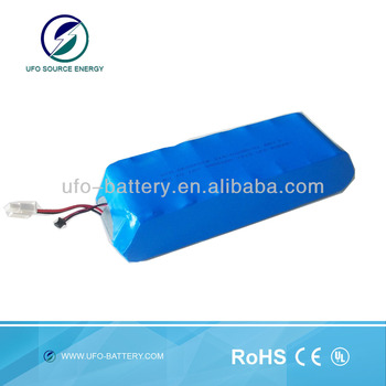 Lifepo4 battery 16v 9900mah lithium polymer with 26650 cell for machinery power storage reachargeable