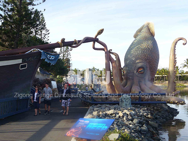 Octopus Inflatable Animal Life Size