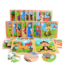 3D wooden puzzle,jigsaw woodcraft kit,affordable gift for your little One