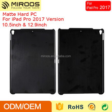 Black Hard Plastic Matte PC Tablet Case For iPad Pro 2017 10.5 12.9 Inch