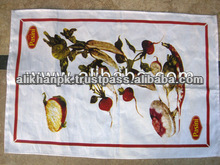 Promotional Customize Print Kitchen Towel Cloth