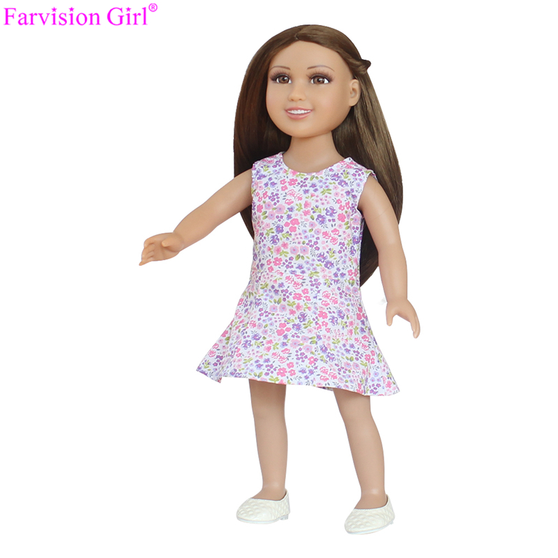 custom bjd doll clothes, factory making 18 inch american girl doll clothes