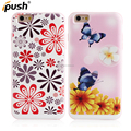 New design PC TPU printing design pattern Combo case with card solt case For iPhone6 back cover phone accessories