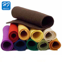 Haofei Wholesale Colorful Non-Woven Needle Punched Felt Fabric