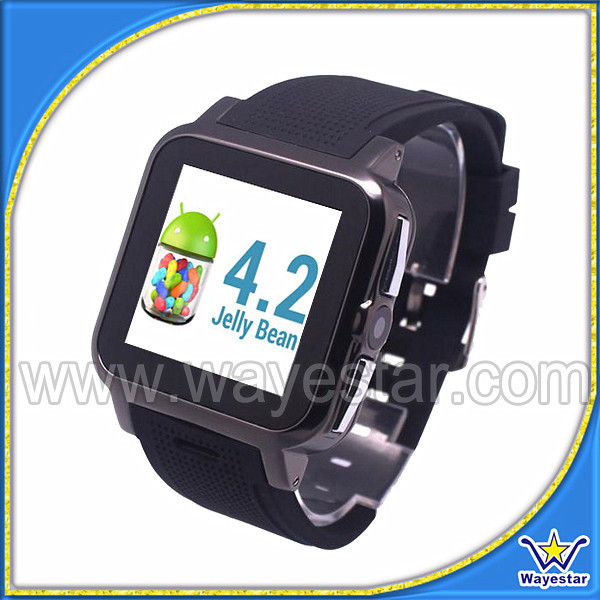1.54'' MT6572 3G Smart Watch Phone support Android 4.2 OS 512MB/4GB