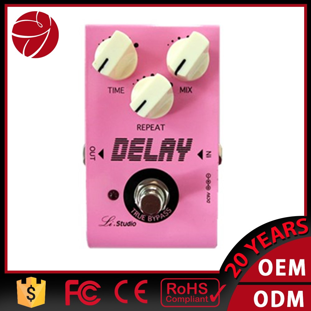 Delay Electric Guitar Effect Pedal Models True Bypass Design 3 adjustable