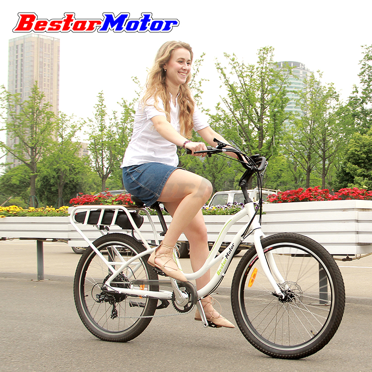 26'' 350W 48V/10.4Ah Lithium Battery Cheap Electric Bicycle for Sale