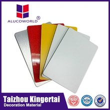 Alucoworld polyester paint fire resistant decorative wall panel