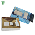 card paper cosmetic packing boxes custom design