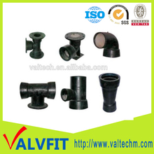 water wastwater industry pipe connection accessories Ductile Iron Flange Socket Pipe Fittings