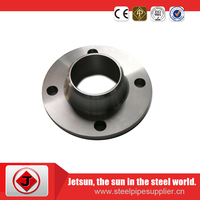 Forged Carbon Steel ASTM A106 Butt weld neck BW flange