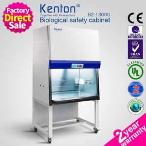 Laboratory LCD microbiological laminar flow safety cabinet Class II Type B2 laminar flow cabinet for lab
