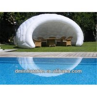 Small inflatable house,black inside inflatable room house for photo use