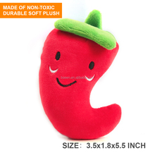 The Newest Popular Squeaky Dog Toys Plush Vagetable and Fruit Toys for <strong>Pets</strong>