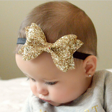 New Headwear Cut Hair Bows Baby Flower Headband Girls Bow Knot Elastic Hair Bands Infant Children Hair Accessories