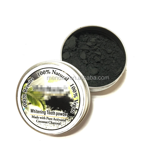 Wholesale Teeth whitening powder coconut bamboo charcoal powder for teeth bleaching