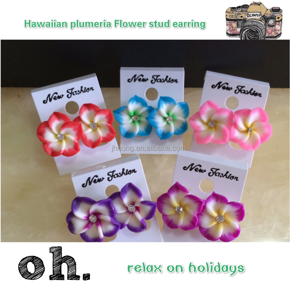 China Plumeria Earrings China Plumeria Earrings Manufacturers And