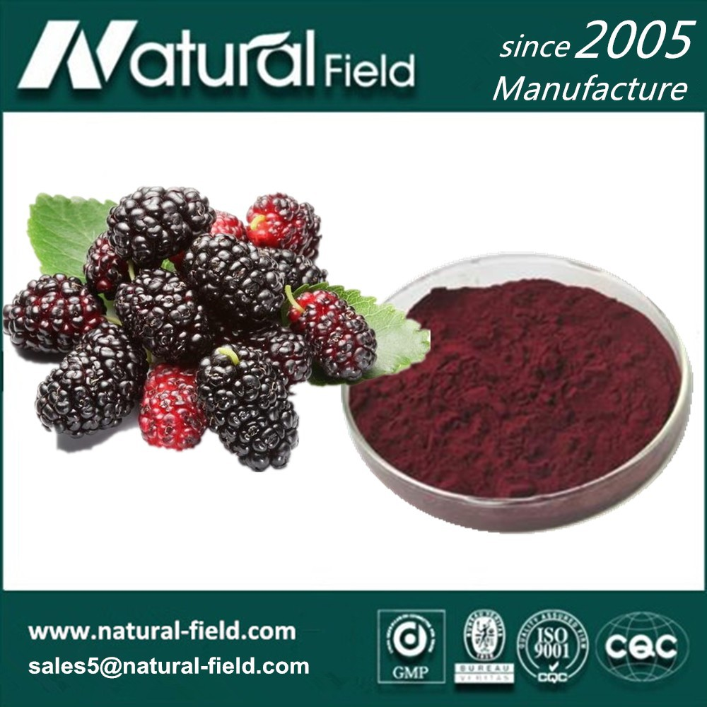 Natural (DNJ)100% water soluble Mulberry Leaf Extract with 1-Deoxynojirimycin