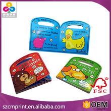 harcover pop-up children book printing children book with vioce recorder printing