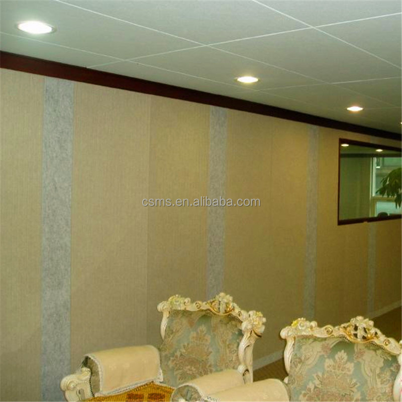 Materials Acoustic Polyester Fibre Sound Proof Wall Board