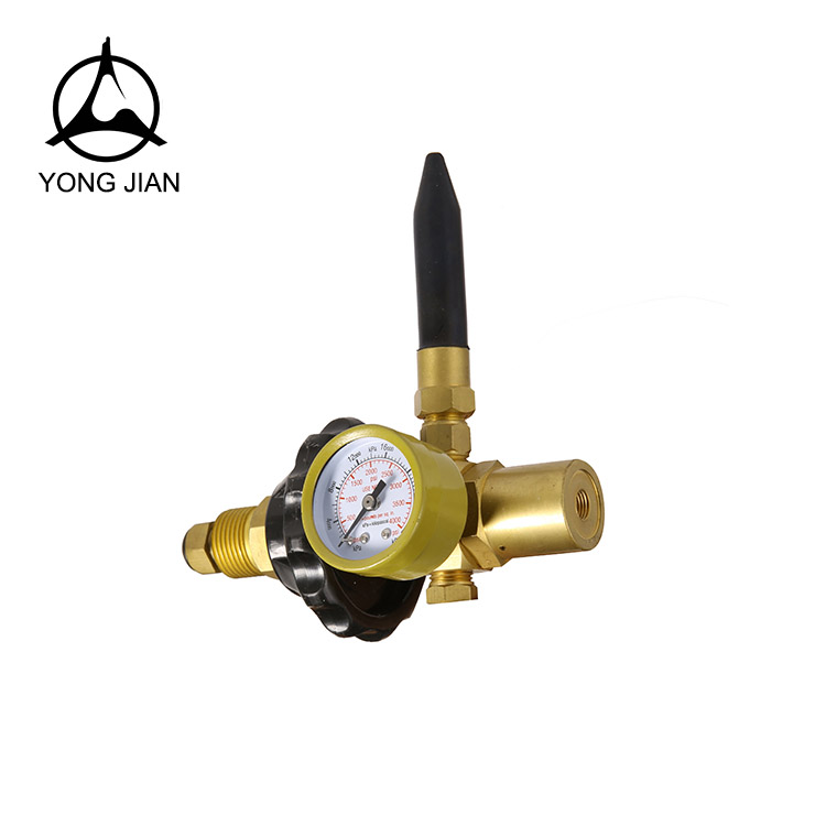 gas pressure regulator, Helium regulator HE-01, GAS REGULATOR