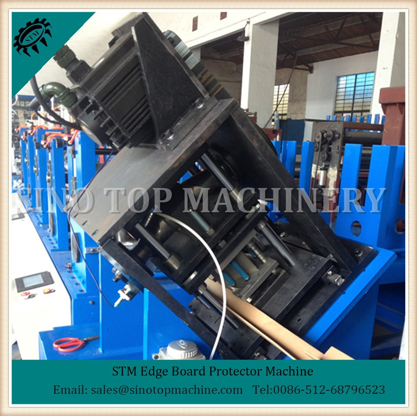 China High Speed Cardboard corner board machine manufacture