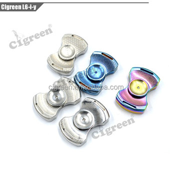 2017 cigreen ss metal new fidget spinner toy with factory price and