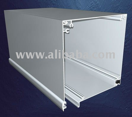 Roller Shutter Box Straight Line for doors and windows