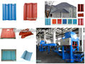 cement color roof tile making machine