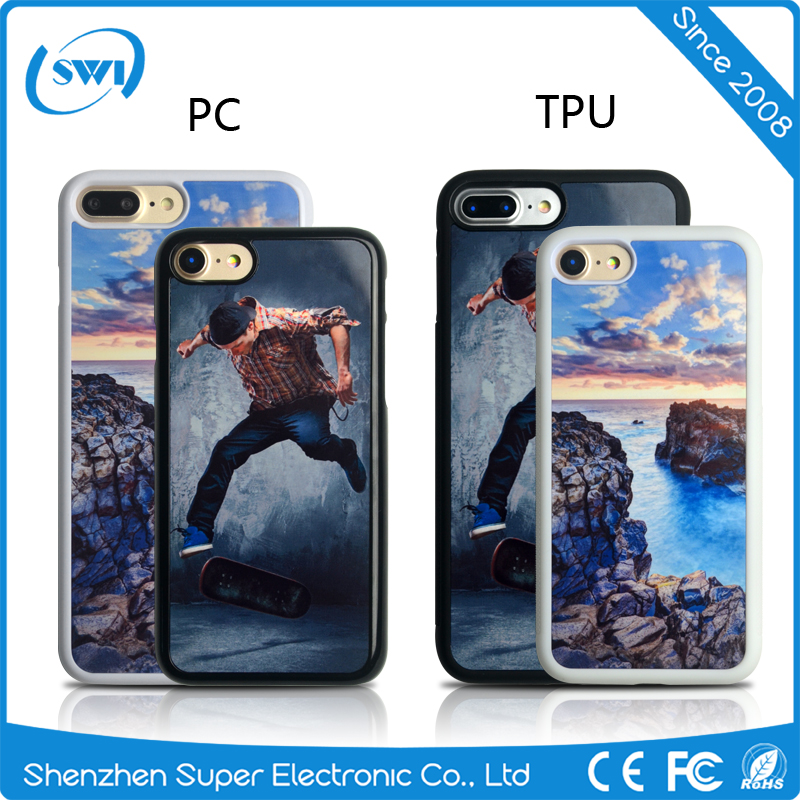 Best quality promotional tpu sublimation case for iphone 7