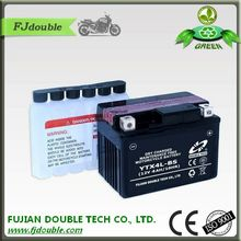 YTX4L-BS lead acid dry charged 12v 4ah motorcycle battery