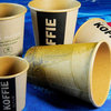 high quality kraft paper soup cup/ coffee paper cups/ kraft paper with logo