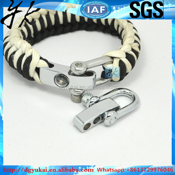 China supply hardware adjustable hot selling stainless steel D shackle and bow shackle
