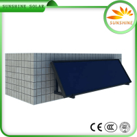 Energy Saving Stainless Steel Swimming Pool Build Flat Plate Solar Collector