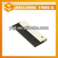 rubber blade wood handle scraper