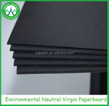 Best price black paper/ black paperboard for book binding