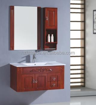 mount classic red wood bathroom cabinet buy modern bathroom cabinets