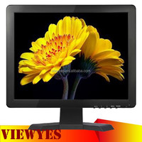 15 inch LCD Monitor with AV Input RCA Video Monitor