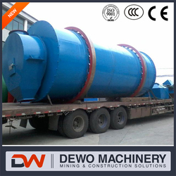 Asphalt Mixing plant with a separately controlled and operated rotary dryer