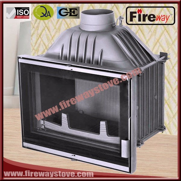 European hot sale insert installation cast iron fireplace
