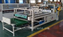 GIGA LXPM-307 Semi-automatic Carton Glue Machine carton covering machine