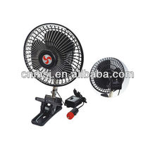 "12V/24V 8""mini clip mounted car fan"