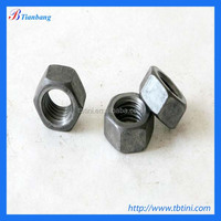 CNC machining make all kinds of fateners m25 titanium hex head thin nut