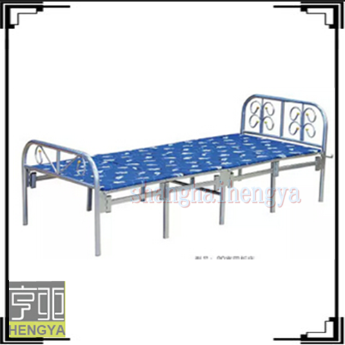 Adult single metal bed hot sale cheap folding bed