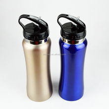 new products stainless steel sports drink bottle with straws